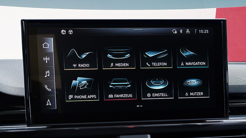 Audi smartphone interface i Audi connect
