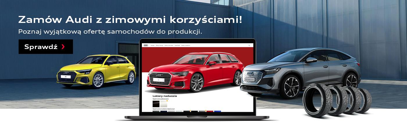 Audi zzimowymi korzyściami