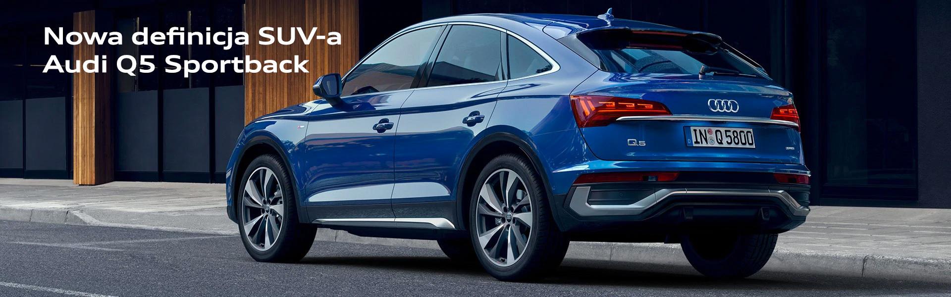 Nowa definicja SUVa Audi Q5 Sportback
