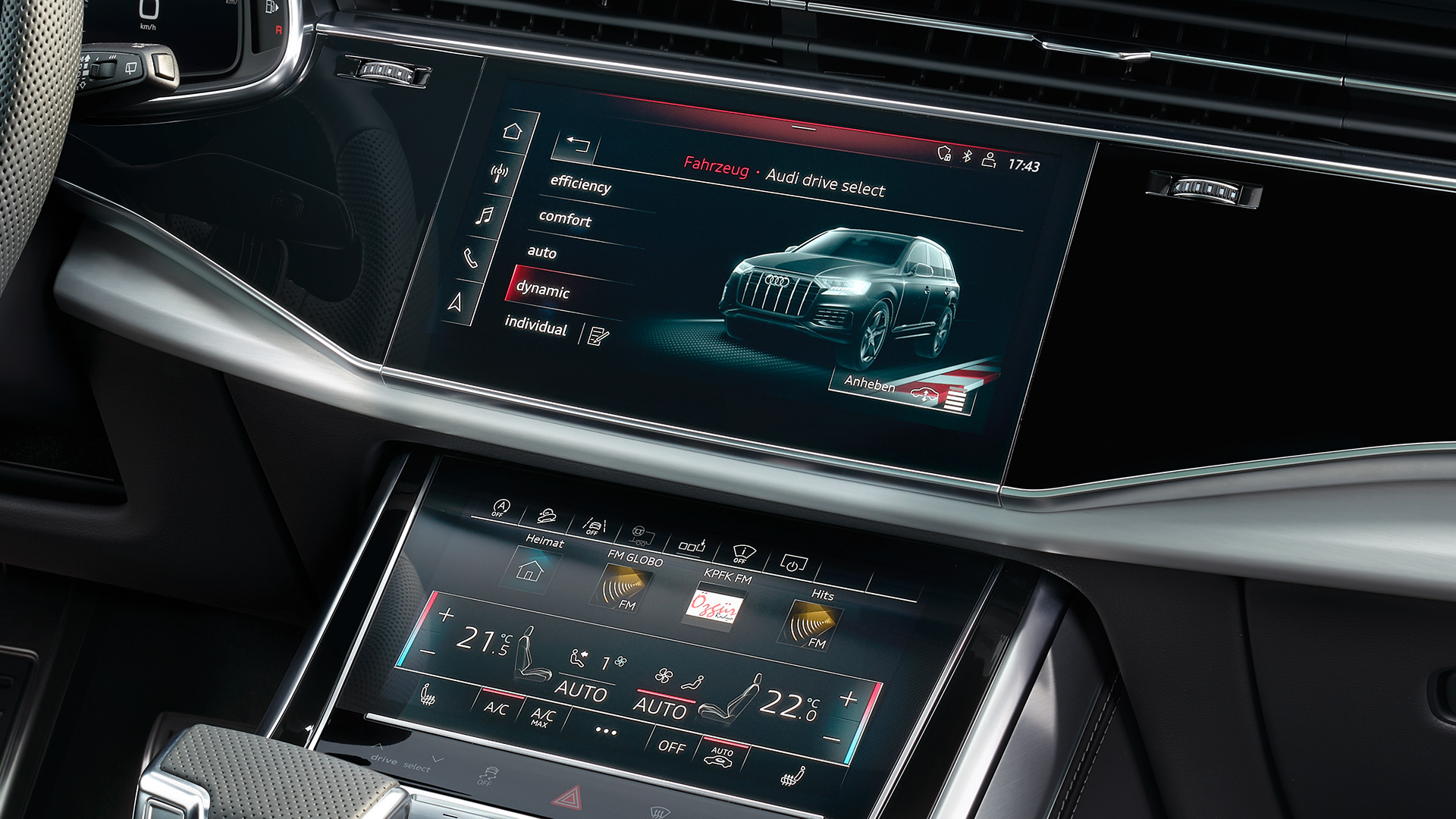 MMI Navigation plus i Audi connect